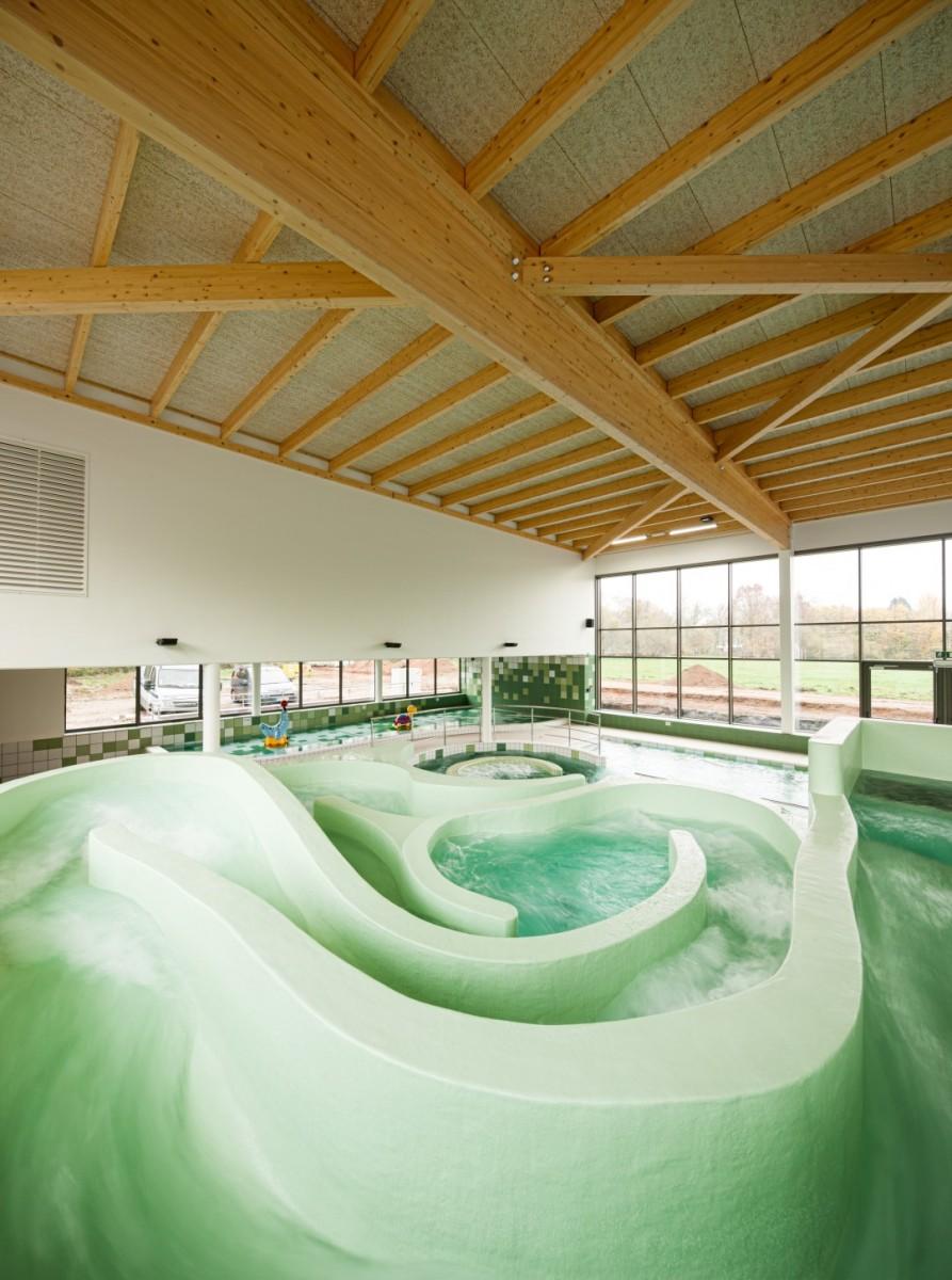 De beeltjens artabel for Construction piscine 25m